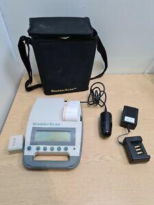 Verathon Bladder Scanner BVI 3000 Diagnostic Ultrasound + 2 MHz probe - printer