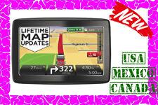 NEW TomTom VIA 1505M GPS Navigator w/ Lifetime Maps USA CANADA MEXICO