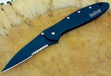 1660CKTST Leek Kershaw pocket knife  combo edge 1660 speed safe Made USA *BLEM*