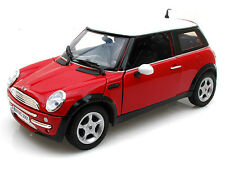 MotorMax  2001 Mini Cooper (R50) Red 1/18 Diecast Car 73114RD