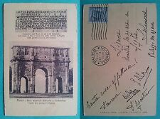Roma - Arco trionfale dedicato a Costantino 1914
