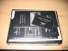 2006 BENTLEY FLYING SPUR OWNERS MANUAL NEW SET OWNER'S