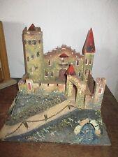 Uralte Burg gut für Elastolin kleine Größe, aus Dachbodenfund
