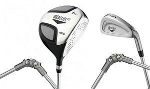 Medicus training Golf clubs--Dual Hinged 460cc Driver+ 5 Iron (Men's LEFT  Hand)