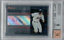 2008 Bowman Draft Signs of the Future Daniel Murphy Auto BGS 9/10 Rookie!