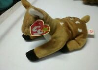 Ty Beanie Baby Whisper The Fawn Retired 1997 With tag