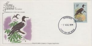 Barbados - 1979 Frigate Bird First Day Cover - Flora & Fauna of the World