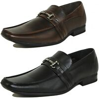 Alpine Swiss Stelvio Mens Buckle Loafers Slip On Tapered Dress Shoes RUNS NARROW