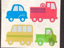 1Vintage 80'S Hambly Foil Cars Sticker 1 1/2 x 1 1/2