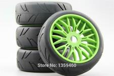 1/8 Rc Car Onroad Glued Wheels Tires Set For Kyosho Inferno Gt1 Gt2 Gt Ve