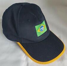 459706ad8f7 Brazil Peak Cap Baseball Hat Navy Blue