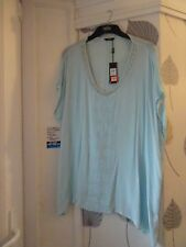 M&CO pretty embellished oversized blouse top size 14 , fits up to 22 BNWT