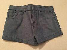 American Girl Doll Clothes Jeans Shorts Denim w/ Pockets Lea Clark NEW