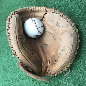 Rawlings RCM55 Lite Toe Mike Piazza Catchers Mitt Glove for Youth RHT