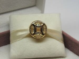NEW Pandora SHINE Good Fortune Coin Luck Charm #767821CSY Box Avail Choose