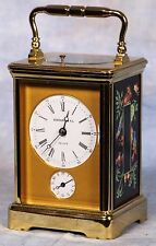 French Tiffany L'Epee Repeater Alarm Carriage Clock Atelier Le Tallec Porcelain