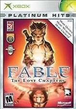 Fable: The Lost Chapters (Platinum Hits) (Microsoft Xbox, 2005) Includes Manual