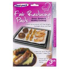 3pk grasso riducendo Grill Forno PADS cucina Burger Salsicce Pancetta Chop cibo sano