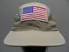 USA - AMERICAN FLAG - ONE SIZE ADJUSTABLE SNAPBACK BALL CAP HAT!