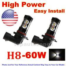 2x Fog Lights for 2011-2014 Infiniti G37 Sedan 60W High Power LEDs White US