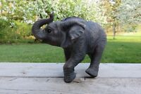 Elephant Walking African Jungle Animals Resin Statue New Ornament Elephants New