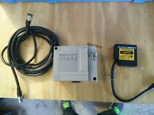 Keyence laser displacement sensor head and plc module with cable Cnc 3D