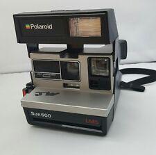 Vintage Polaroid 600 land camera sun 600 LMS light management system UNTESTED