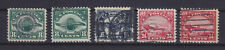 USA AIR MAIL 1923, SC C4/C6, 5 STAMPS, USED