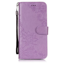For Samsung Galaxy S3 S4 S5 S6 S7 S8 S9 Magnetic Flip Wallet Leather Case Cover