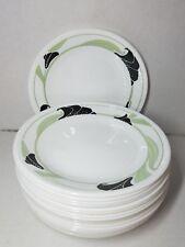 Read Listing Corelle BLACK ORCHID 6.75 inch Dessert Plates Plate FAIR CONDITION