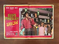 Fotobusta 1970,Elvis Presley show,That's the Way it is  The King Rock and Roll