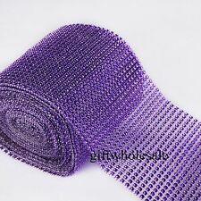 Diamond Mesh Wrap Ribbon Roll Cake Rhinestone Wedding Favor Decor Party Supplies