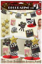 DECORATING KIT HOLLYWOOD AWARDS OSCARS AT THE MOVIES THEMED PARTY DECORATIONS