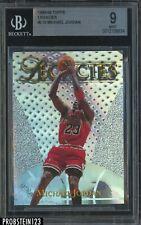 1998-99 Topps Legacies Michael Jordan Refractor #L15 BGS 9 MINT RARE
