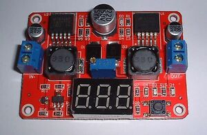 3 Amp auto boost / buck regulator with Display UK Seller