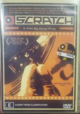 SCRATCH MUSIC DJ RECORD DOCUMENTARY MOVIE - HIP HOP DVD RARE A DOUG PRAY FILM
