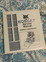 Bobcat S740 Skidsteer Loader Workshop manual repair service manual Binder