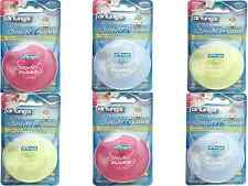 2 X Dr Tung's Smart Dental Floss 27m Removes 40 More Plaque