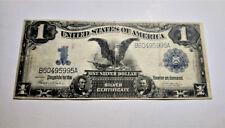 1899 $1 USA DOLLAR SILVER CERTIFICATE UNITED STATES VF BANKNOTE TEEHEE/BURKE-B60