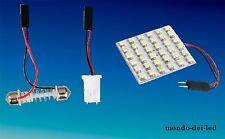 6x PANNELLO luci posizione 36 LED t10 t11 hyper led bianca auto 6000K