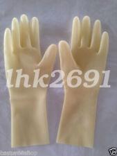 Pure Latex Rubber Gloves Hot Sale Five Finger Handschuhe 0.4mm Size S-XL