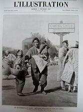 CHINE RÉFUGIÉS NEW-YORK SAN-FRANCISCO PAYS DES GRATTE-CIEL L'ILLUSTRATION 1927