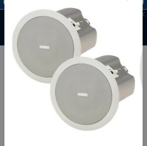 """NEWQSC AcousticDesign C Series AD-CI52T 5.25"""" 2-Way Compact Ceiling Speaker Pair"""