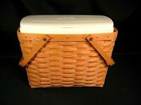 Longaberger Basket with Personal Solutions Insert