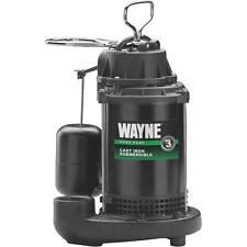 Wayne 1/2Hp Cast Sump Pump