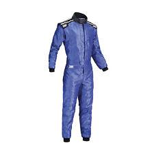 Neu OMP Kartoverall KS-4 blau (Homologation CIK FIA) (M)