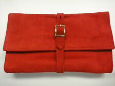 Bag Suede for Jewelry Lederer de Paris Butter Soft 1960 Jeweler for Traveling