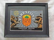 FIRESTONE EASY JACK IPA  BEER SIGN  #1034