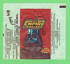 #D370.  1980  SCANLENS STAR WARS THE EMPIRE STRIKES BACK  WAX WRAPPER