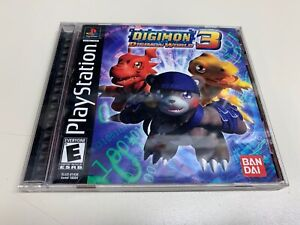Authentic Digimon World 3 Complete Playstation 1 PS1 *FULLY FUNCTIONAL*